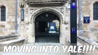 MOVING INTO YALE! // COLLEGE MOVE IN VLOG! // Summer Session