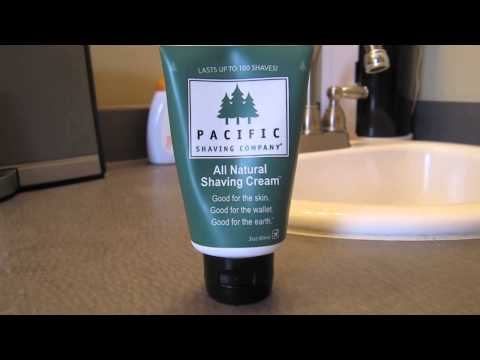 Best Shaving cream- Pacific shaving cream