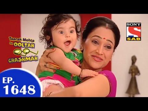 Taarak Mehta Ka Ooltah Chashmah - तारक मेहता - Episode 1648 - 10th April 2015 video