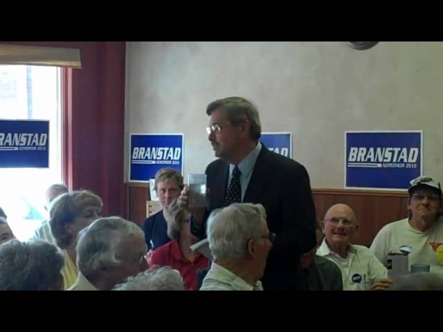 Branstad Reacts to Palin Endorsement