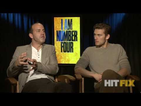 Alex Pettyfer And DJ Caruso Talk  - I Am Number Four