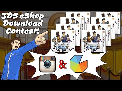 #LaytonVsWright OBJECTION! Contest! 8 US Nintendo eShop Codes To Subscribers!