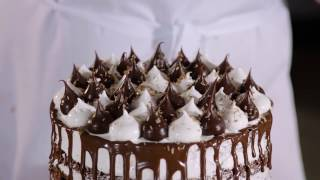 Chocolate Lime Meringue Cake Recipe Video