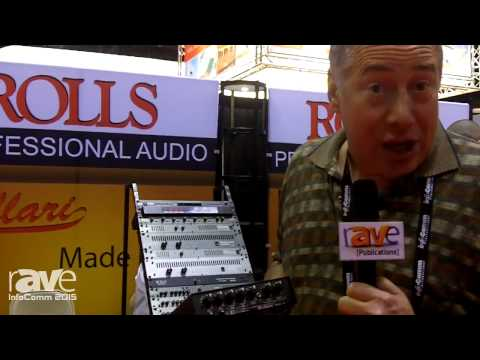 InfoComm 2015: Rolls Talks About MixMate 153