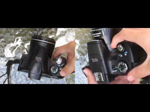 Canon SX50 vs. SX40