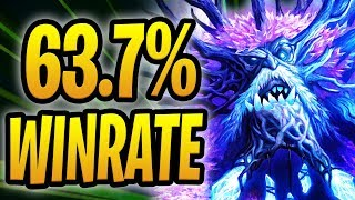 63.7% WINRATE HEAL DRUID!   Lucentbark Omega Taunt Heal Druid   Rise of Shadows   Hearthstone
