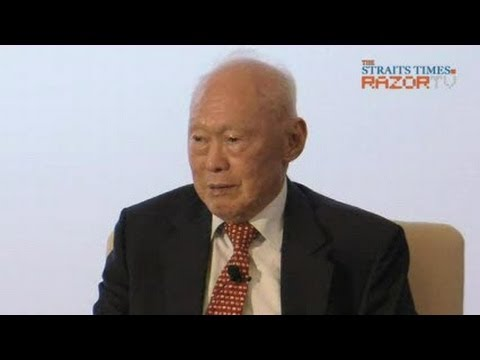 MM Lee dialogue on China & Singapore relations (Pt 4)