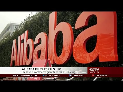 Chinese E-Commerce Giant Alibaba Files for U.S. IPO