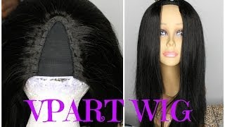 DETAILED INVISIBLE PART VPART WIG FULL TUTORIAL