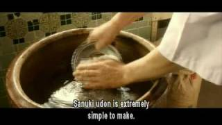 "UDON (Japan; 2006) ""How to make udon"" sequence, narrated by Manami Konishi"