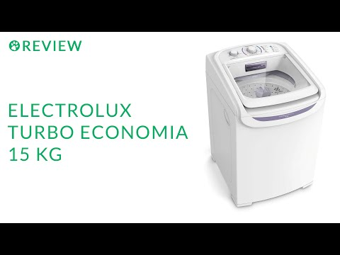 Review da Electrolux Turbo Economia 15 Kg (LTD15)