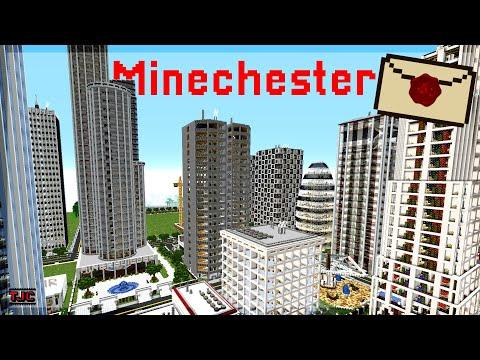 MINECHESTER City ist eine ECHTE Großstadt IM SPIEL! - 📪 2021 Ep. 68