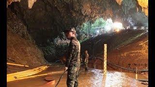 Chicos atrapados en Tailandia: Rescataron a 8 y restan 8