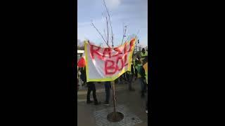 01/12/2018 - Manifestation Gilets Jaunes à Strasbourg