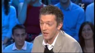 Vincent Cassel - On n'est pas couché 15 novembre 2008 #ONPC