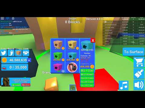 ROBLOX FREE GAME TOYS Mining Simulator Part 41