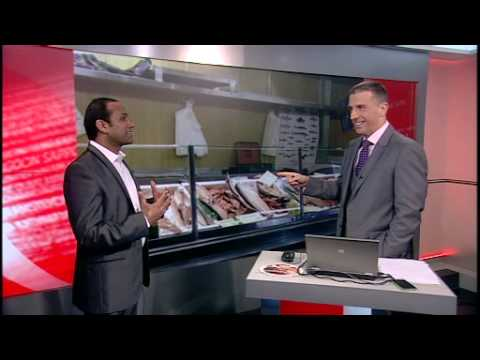 ONE POUND FISH MAN ON BBC WORLD NEWS