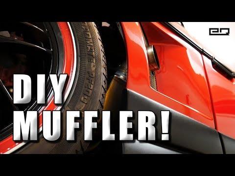 DIY Muffler Build! (Sound Level and Back Pressure Test)