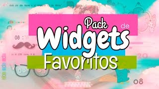 Pack  Widgets Favoritos / Personaliza Descargar widgets / Instala Xwidgets