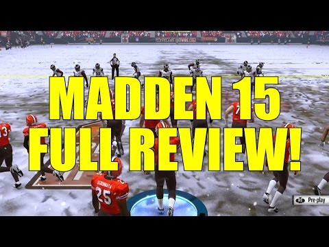 Madden NFL 15 Full Game Review by NerosCinema (With Gameplay!)