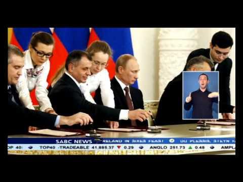 Vladimir Putin completes Crimea region annexation.