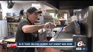 Kokomo man employed at Burger King for three decades doesnt miss work