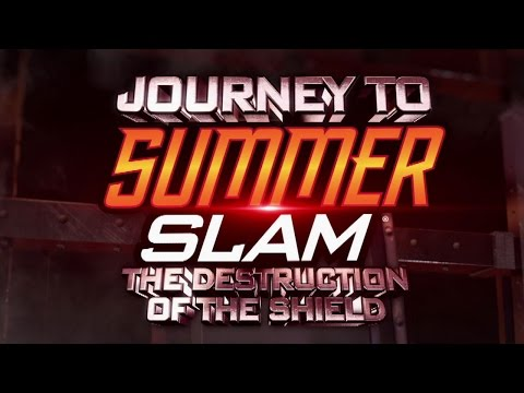 Journey To Summerslam - The Destruction Of The Shield: On Demand On Wwe Network video