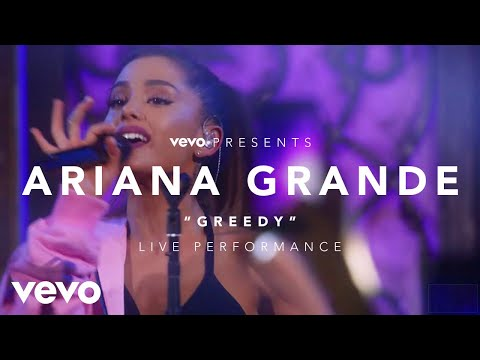 download lagu Ariana Grande - Greedy Vevo Presents gratis