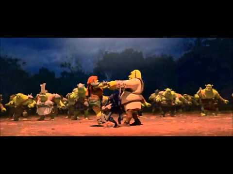 Shrek - Forever After - Ogre's dancing