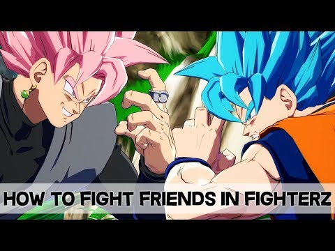 Dragon Ball FighterZ - How to Battle Your Friends w/ Ring Match! [Easy Tutorial]