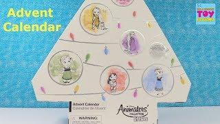 Disney Animators Littles Advent Calendar Exclusive Blind Bag Toy Unboxing   PSToyReviews