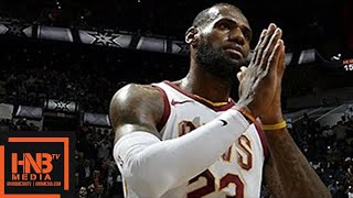 Cleveland Cavaliers vs San Antonio Spurs Full Game Highlights / Jan 23 / 2017-18 NBA Season