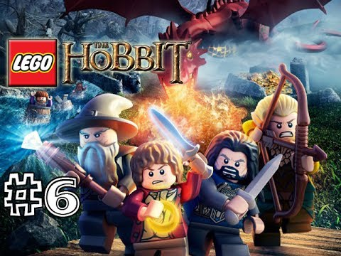 LEGO THE HOBBIT VIDEOGAME - PART 6 (GAMEPLAY WALKTHROUGH) (HD)