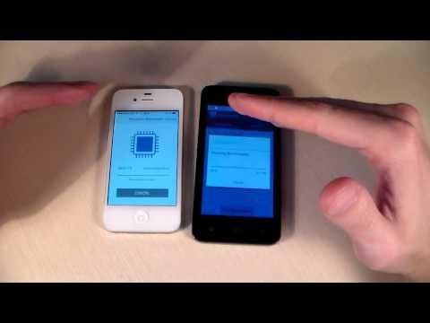 Gigabyte Gsmart T4 vs iPhone 4S