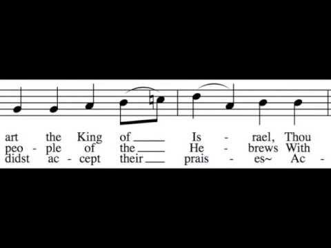 All Glory, Laud and Honor - Bass Only - Learn How to Sing Hymns