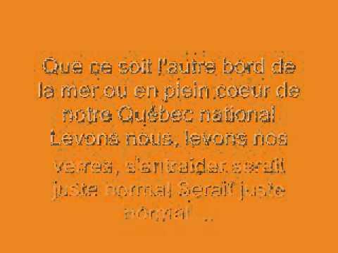 William Deslauries - Je Lève Mon Verre