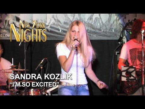 Sängerin Sandra Kozlik