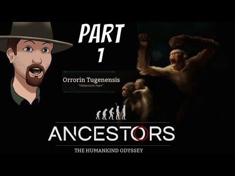 Ancestors- The Humankind Odyssey Gameplay- Road to Millennium Man- Livestream Part 1