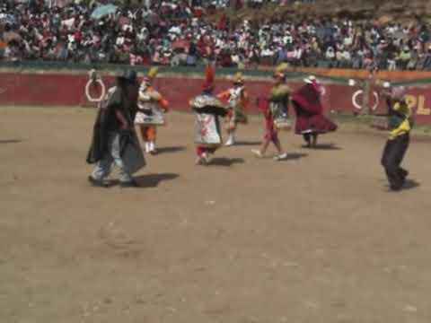 Negritos de Acobamba en Lircay Navidad 2008 8