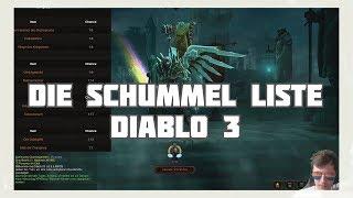 Diablo 3: Die Schummel Liste (für alle Klassen)