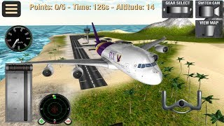 Flight Simulator Fly Plane 3D (by i6 Games) Android Gameplay [HD]