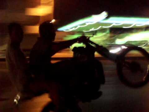 Karachi bike riding video