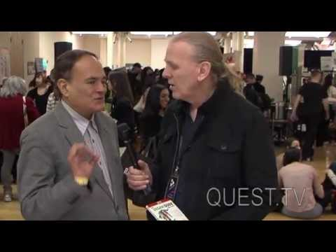 QUEST.TV - NYC Vegetarian Food Festival 2013 - Rynn Berry- Restaurant Guide