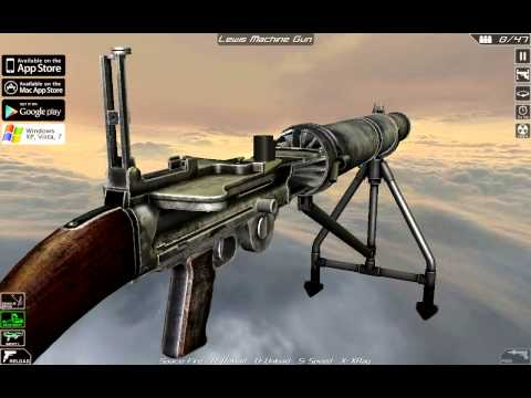 Lewis Gun (full disassembly and opreation)