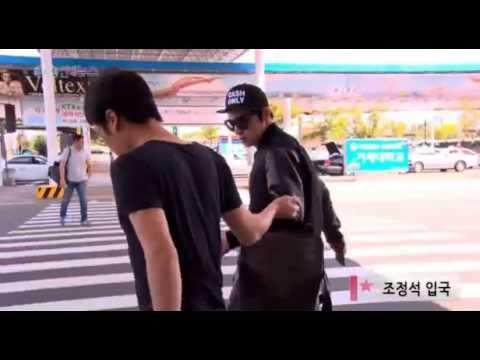 조정석(Cho Jung Seok)  - (141002) 김해공항도착영상 (부산국제영화제)