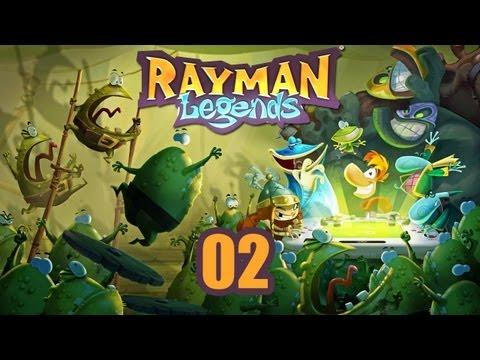 Rayman Legends - Прохождение pt2