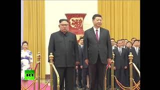 N. Korea's Kim Jong-un meets with China's Xi Jinping in Beijing
