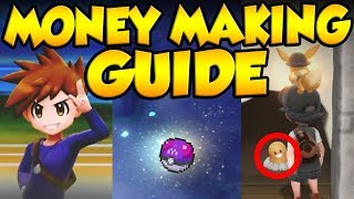 DO THIS EVERY DAY! Best Pokemon Let's Go Money Making Guide