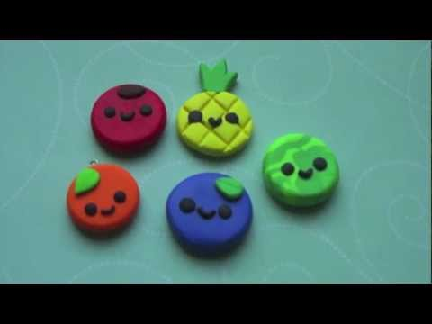Flat Fruit Charms Tutorial! ◕ ‿◕
