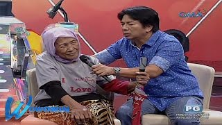 Wowowin: 121 years old na lola, dumalaw kay Kuya Wil